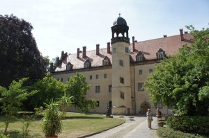 The converted monastery that served as the Luther family's house in Wittenberg.